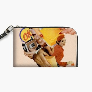Snupped Isotope - Phone Pouch - Say Cheese!