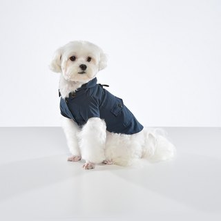 Functional detachable hooded pet jacket - wide version