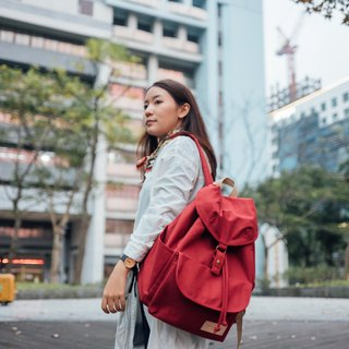 GET AWAY backpack - Red