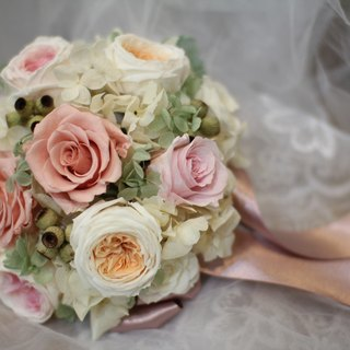 [Feelings] Elegant - eternal flower / dried flower / bouquet jewelry / wedding bouquets bouquet / Flowers & Gifts