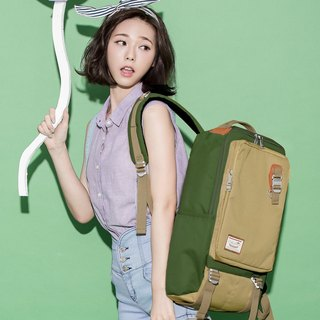 Doughnut Waterproof Toast Backpack - Matcha Caska