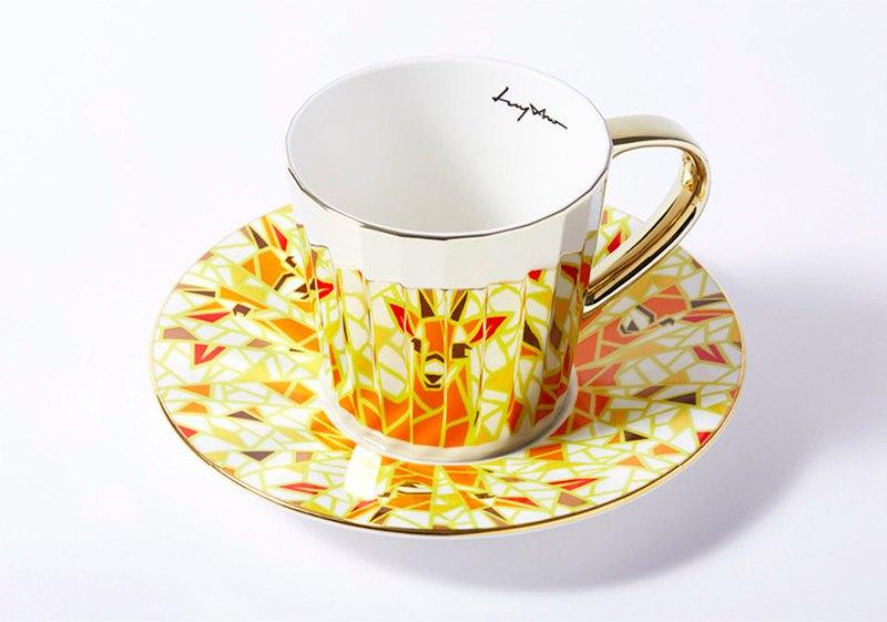 Luycho 鏡面倒影杯 咖啡杯 _ 羚羊 (大款)