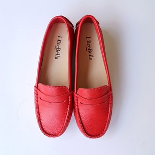 【Floating Walking】 Super Elastic Peas Shoes - Red