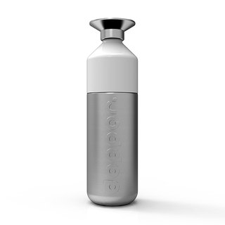 Dutch dopper water bottle 800ml - stainless steel