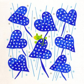 My Favorite Weather picture minoru furuse Illustration japan Illustration original stencil handmade