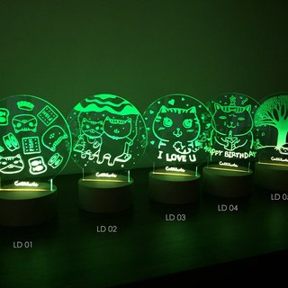 【Cattitude】 LED Lamp 小夜燈 LD02