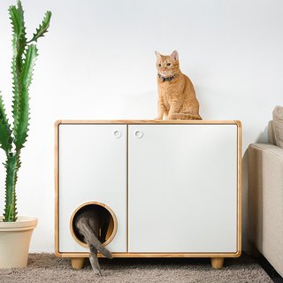 Cat Kennel With Rounded Corner