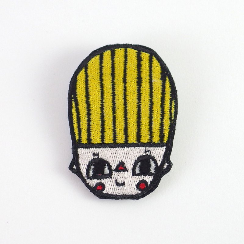 Embroidered Pin / Bamzee