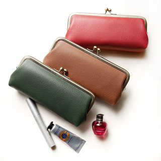 Royal Litchi Eyeglasses / Pencil Case / Cosmetic Bag [Made in Taiwan]