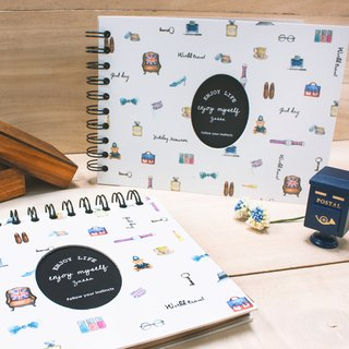 Boge stationery x taste life [phase this hand] M two colors