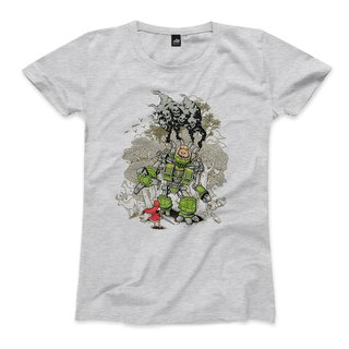 Bravery - Dark Ash - Female T-Shirt