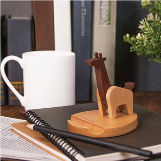 giraffe. Good head mobile phone holder