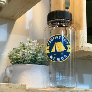 Camping water bottle -- Tent