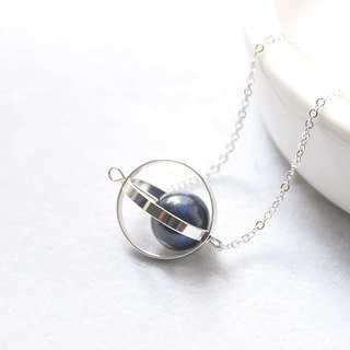 Courage Planet. universe. Silver ring. Blue tiger eyes. Necklace Valor Planet. Galaxy. Sliver Ring. Hawk-eye. Necklace. birthday present. Girlfriend gift. Sister gift