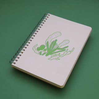 Fat Plant Blank Notebook - Meat Pieces