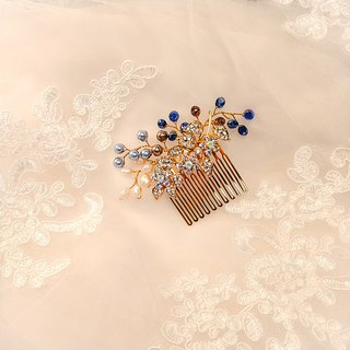 Wear the happiness of rice series - the bride comb. French comb. Wedding buffet - Collection