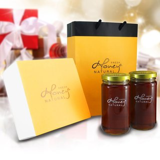 Kapok Angel: Soon Honey Bee I Love You Honey Kapok pure honey into the classic gift box 2 bottles of 460 grams per bottle