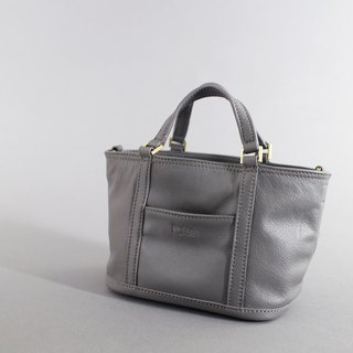 Passion pouch bag gray hand / shoulder / hatchback