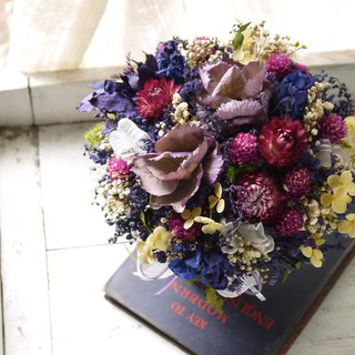 Dreamgirl. Mysterious Purple. Birthday Dry Flower Gift