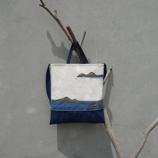 Imagine the sea - portable shoulder bag