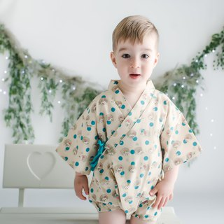 Japanese Cotton Baby Romper Riku