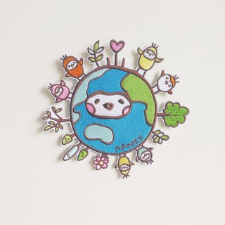 Earth Seed Patches/Pins