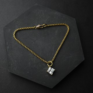 Free Diamond Eye - Brass Bracelet
