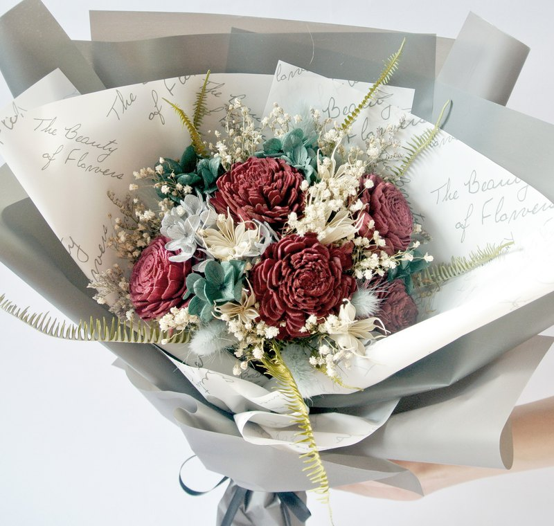 No withering flowers big bouquet without withering flowers dry flowers sola flower bouquet
