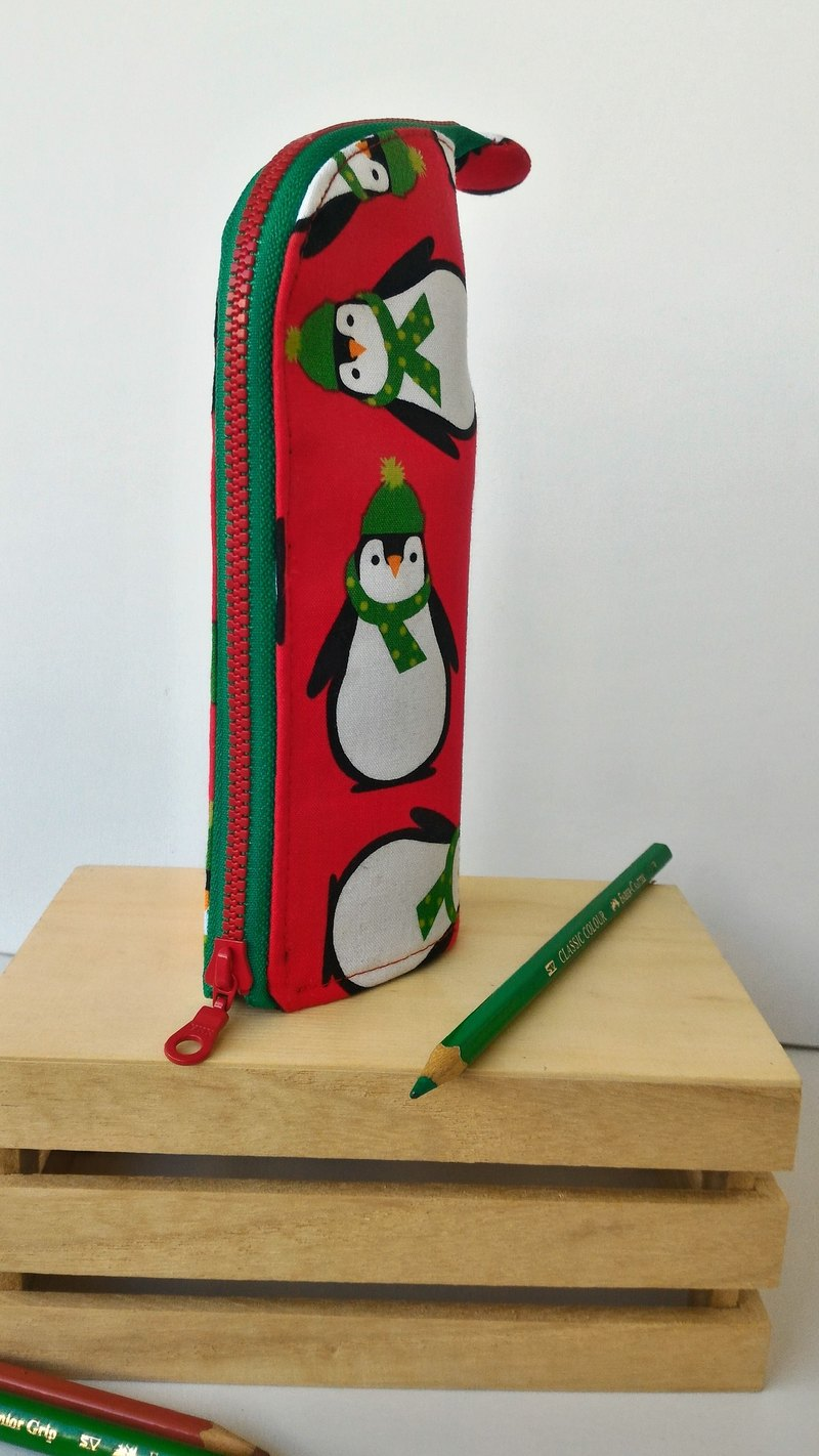 Penguin upright pencils graduation day exchange gift
