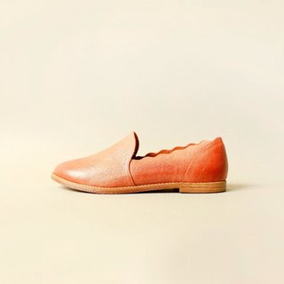 Leather Slippers | Light Tan