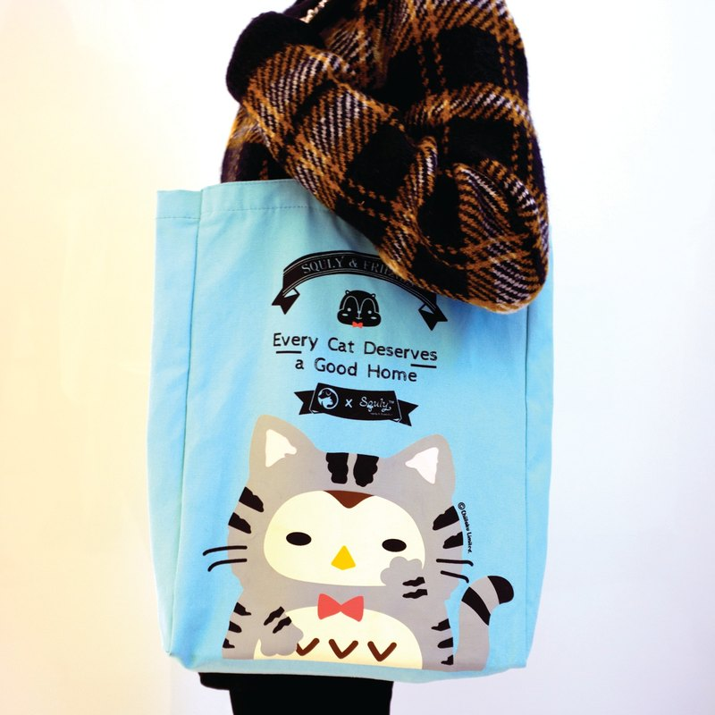 Squly Canvas Tote Bag (SPCA Special Edition - Cat) - E022SQB
