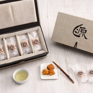 Food Michelin Samsung - [source of home dried mango] top layer of gold brick gift box