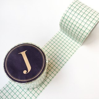Kurashiki craftsman and paper tape [45mm square eye engraved-green (45019-18)]