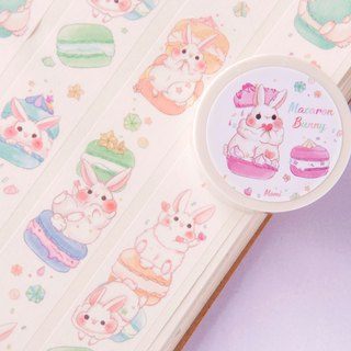 Colorful Macarons Rabbit_Paper Tape