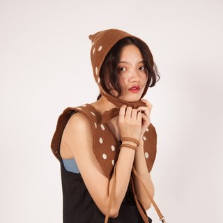 Ke original handmade hat female creative deer hat series fisherman hat berets wool felt forest Department of sweet cute