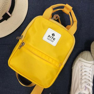 [RITE] Le Tour Series - Dual-use Mini Backpack - Rainbow [Yellow]