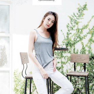 Air tank top - gray