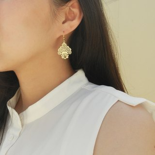 *Coucoubird*complex Gulei Si ribbon earrings