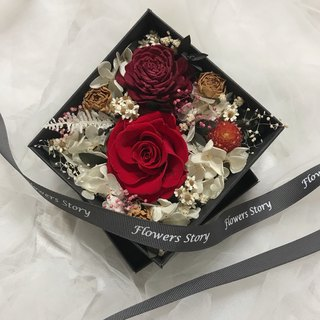 Eternal Rose Box - Strong Love