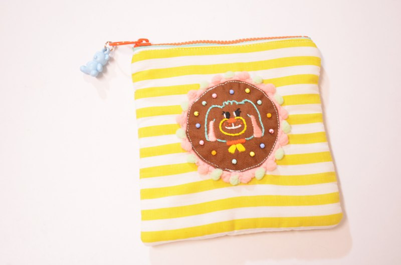 Star Candy Embroidered Biscuit Bag
