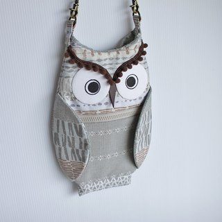 Owl oblique backpack No.5