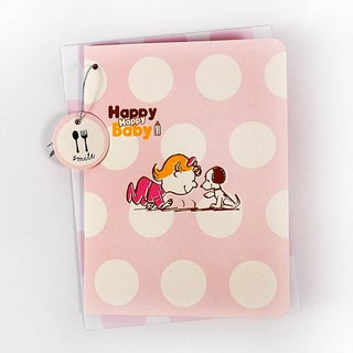 Snoopy blessing to the little girl baby [Hallmark stereo card baby congratulations]