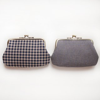 Size grid mouth gold buns mother bag / purse [made in Taiwan]