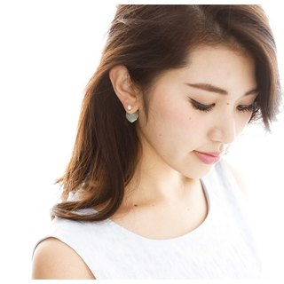 [JewCas] Quart earrings / JC2249, JC2250, JC2251