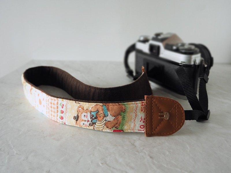 /現貨/ 手作減壓相機背帶 相機背繩 相機帶 (熊熊鴨子兔子) S15