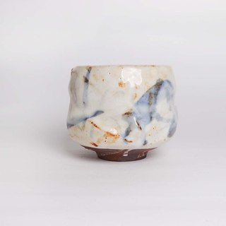 Painted wild tea bowl