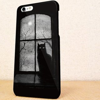 送料無料☆iPhone case GALAXY case ☆窓際の猫 phone case