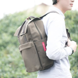 Give boyfriend - heavy canvas bag cover backpack