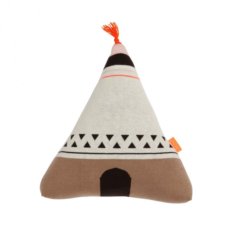 WIGWAM cotton pillow - orange | OYOY