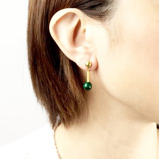 Compact Earrings #9